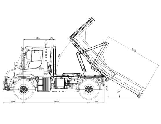 Konstruktion Unimog 2